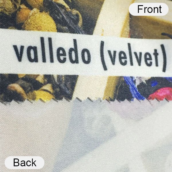 valledo front and back