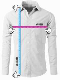 long sleeve diagram