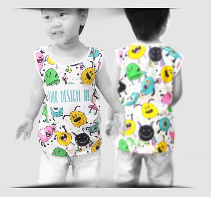 Tanktop Kids specification mobile 1